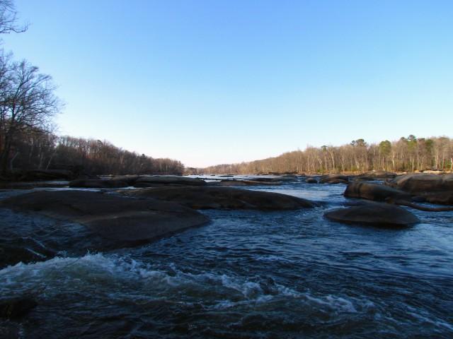 Dark and pretty river