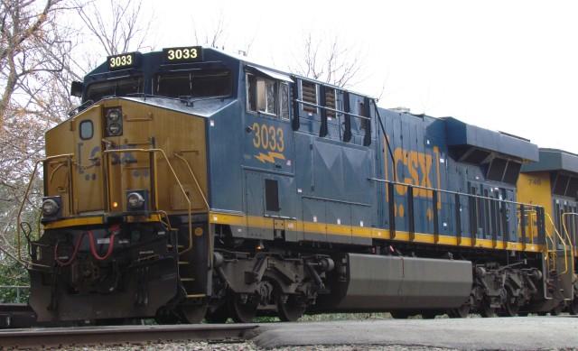 GE ES44 locomotive