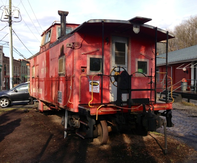 Old caboose