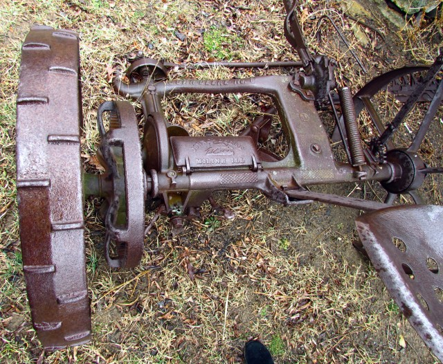 John Deere farm equipment - from a LONG time ago
