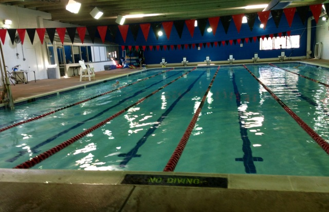 The pool - Tuckahoe YMCA - Richmond, VA - I swam on the far right