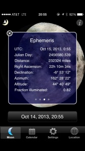 More moon info