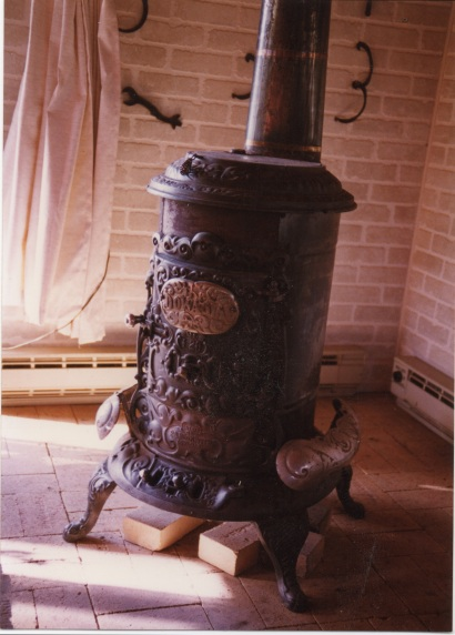 Our family's first woodstove