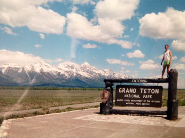 Gus welcomes us to the Grand Tetons: