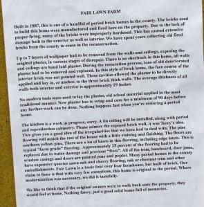 Explanation of the farm
