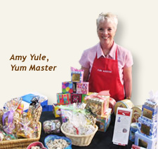 The Yum Master! Best job title EVER!