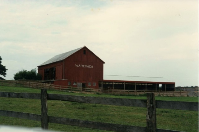 The barn at Camp:
