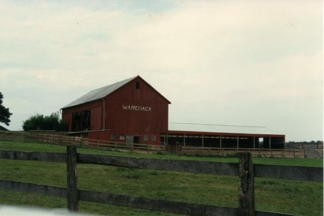 The barn at Camp: