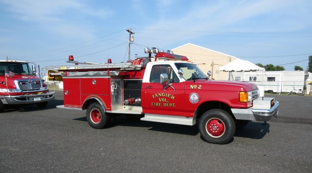 Nice looking Volunteer Fire Department, founded 1964