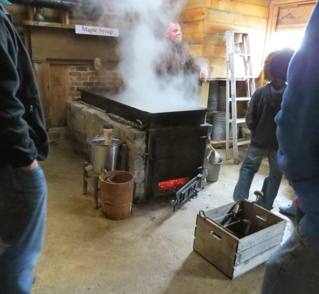 Inside Duff's sweet smelling Sugar House, where the maple magic happens