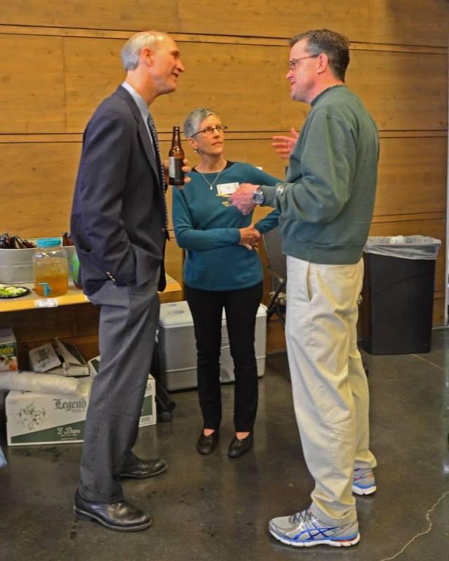 Phil, Evie, me - VCU Rice Rivers Center