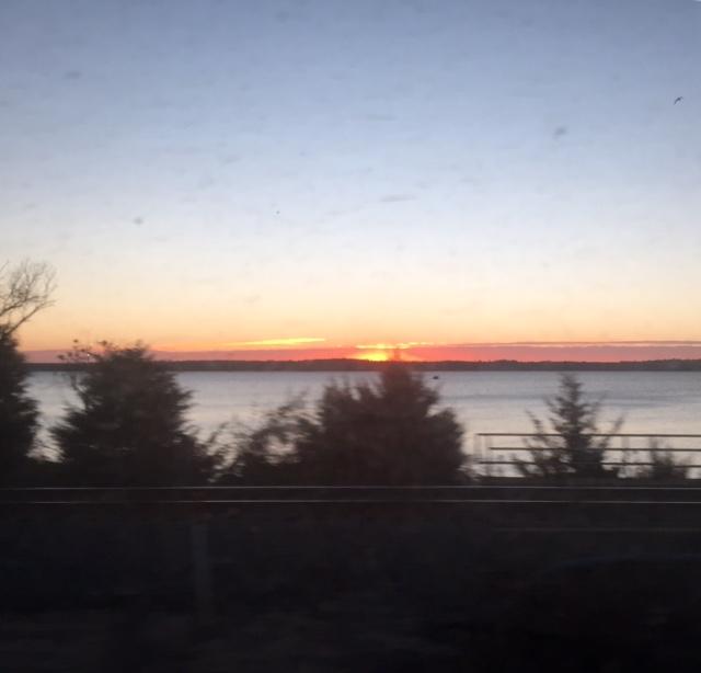 Sunrise to begin a wonderful journey