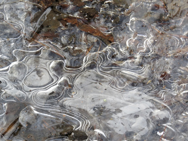 Ice topography