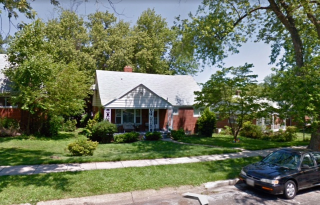 Home for most of my childhood. My brothers and my room was at that awning on the second floor on the left.