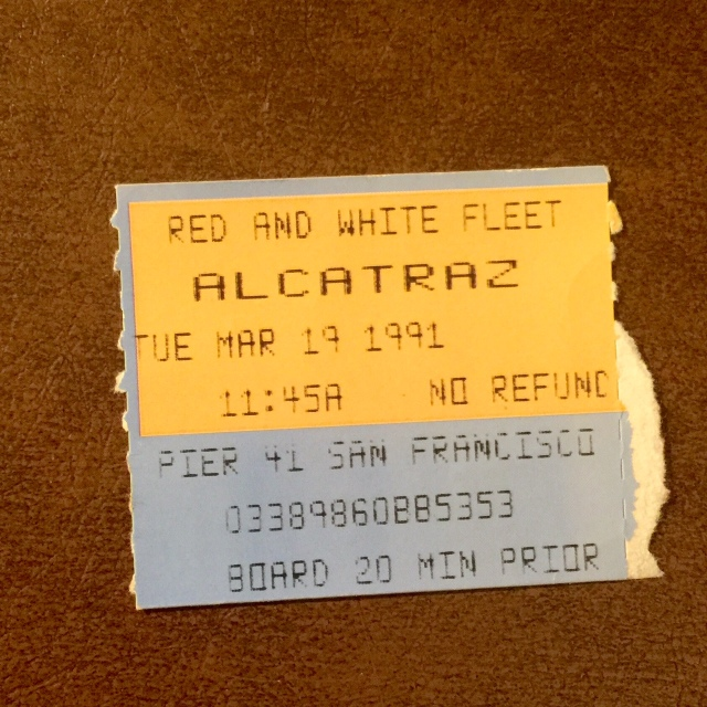 When you went to Alcatraz there was NO REFUND