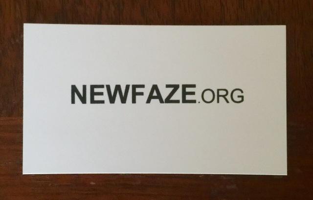 My blog card