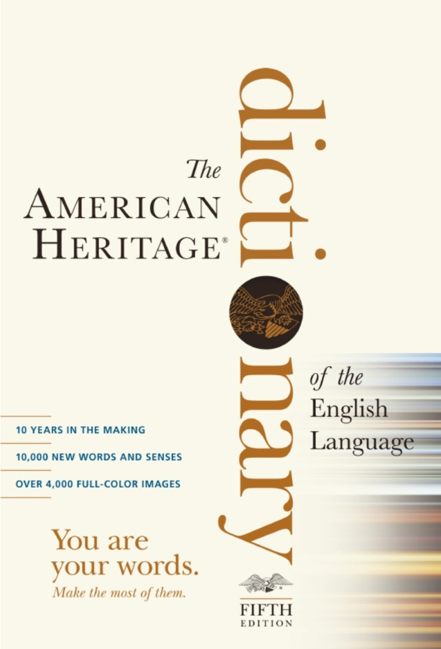 The American Heritage Dictionary - Fifth Edition
