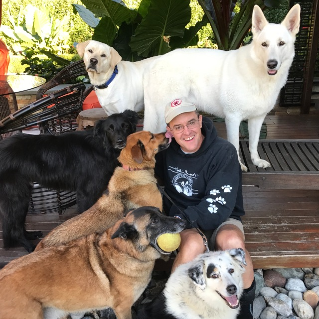 Mackey, Turner, Yuki, Sonny, Lola, Luna, me. Photograph by Ariel - thanks Ariel!