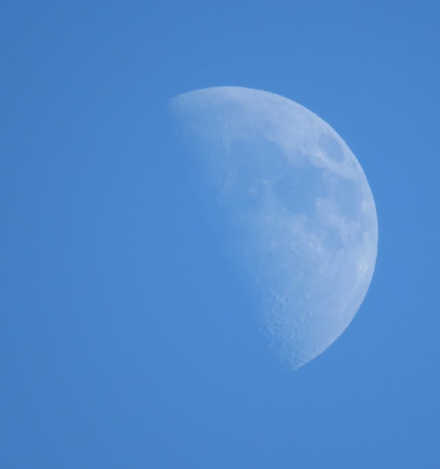 Waxing Wednesday moon